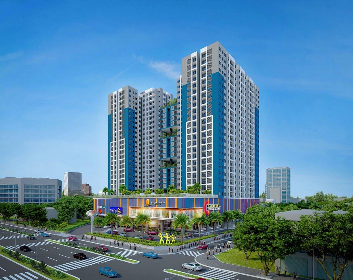 Phối cảnh dự án Saigon Avenue Thủ Đức