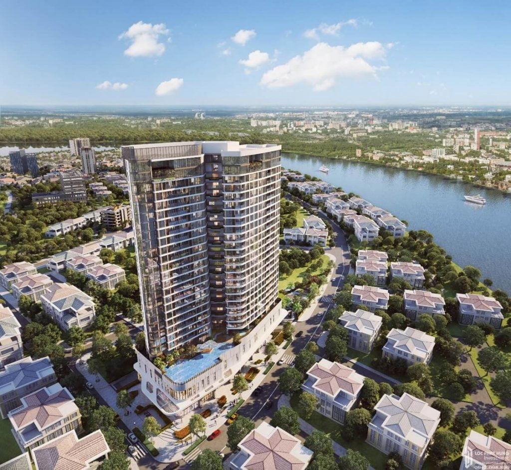 Phối cảnh dự án Thảo Điền Green Towers