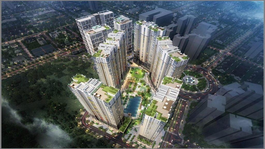 Phối cảnh dự án The Palace Residence Quận 2