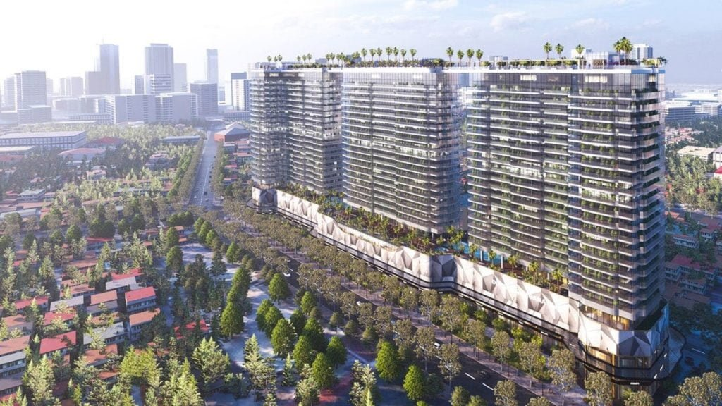 Phối cảnh dự án Sunshine Continental Thành Thái