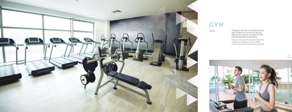 Phòng gym Safira Khang Điền