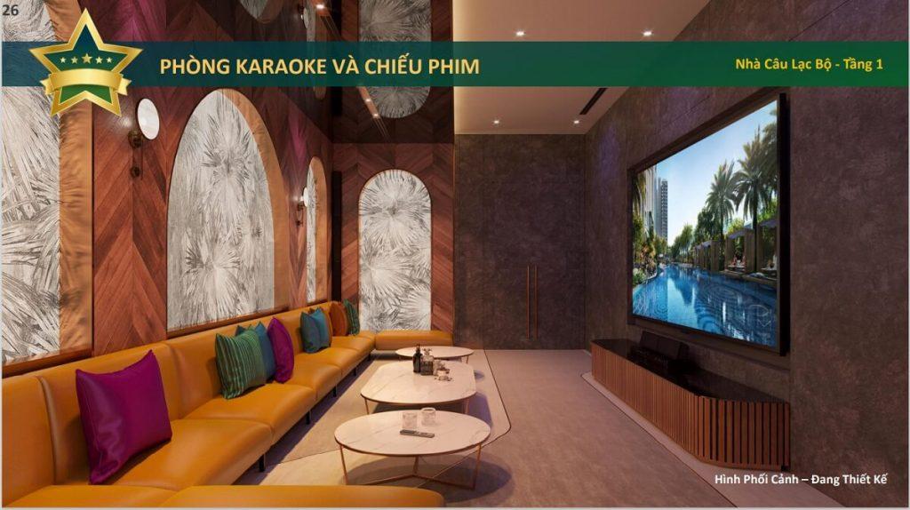 Phòng karaoke và chiếu phim
