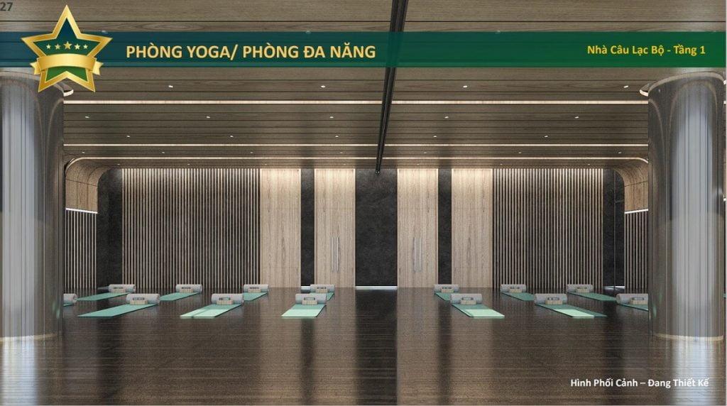 Phòng yoga / phòng đa năng