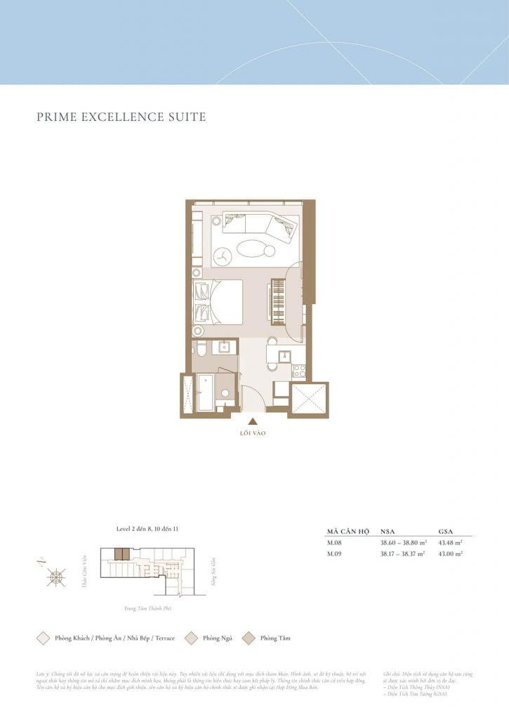 Prime Excellence Suite Sea