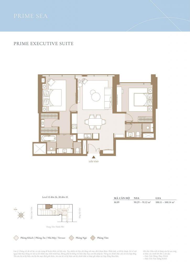 Prime Executive Suite Sea
