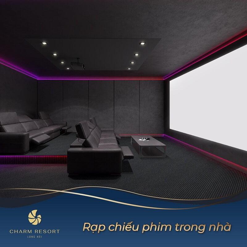 Rạp chiếu phim trong nhà Charm Long Hải Resort