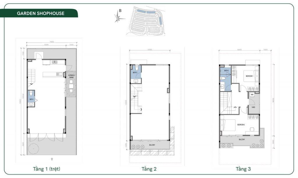 Thiết kế Garden Shophouse ID Junction