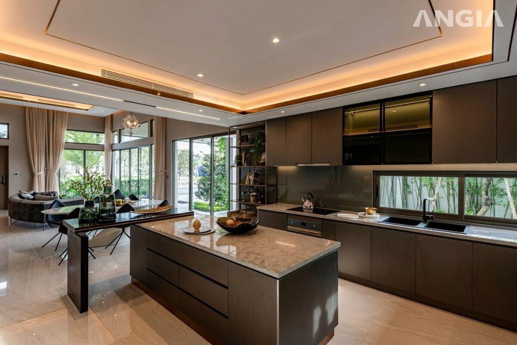 Nhà mẫu căn Villa của dự án nhà phố An Gia The Standard