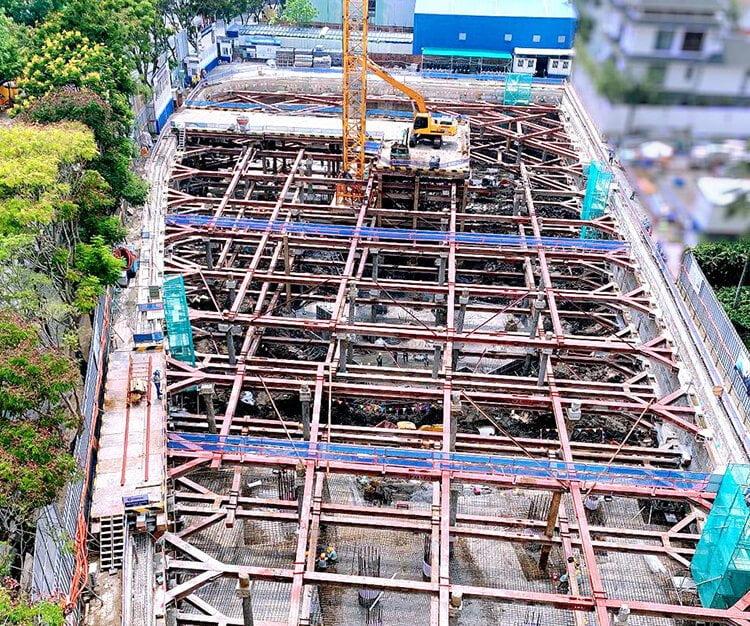 Tiến độ thi công Thảo Điền Green Towers tháng 04/2021