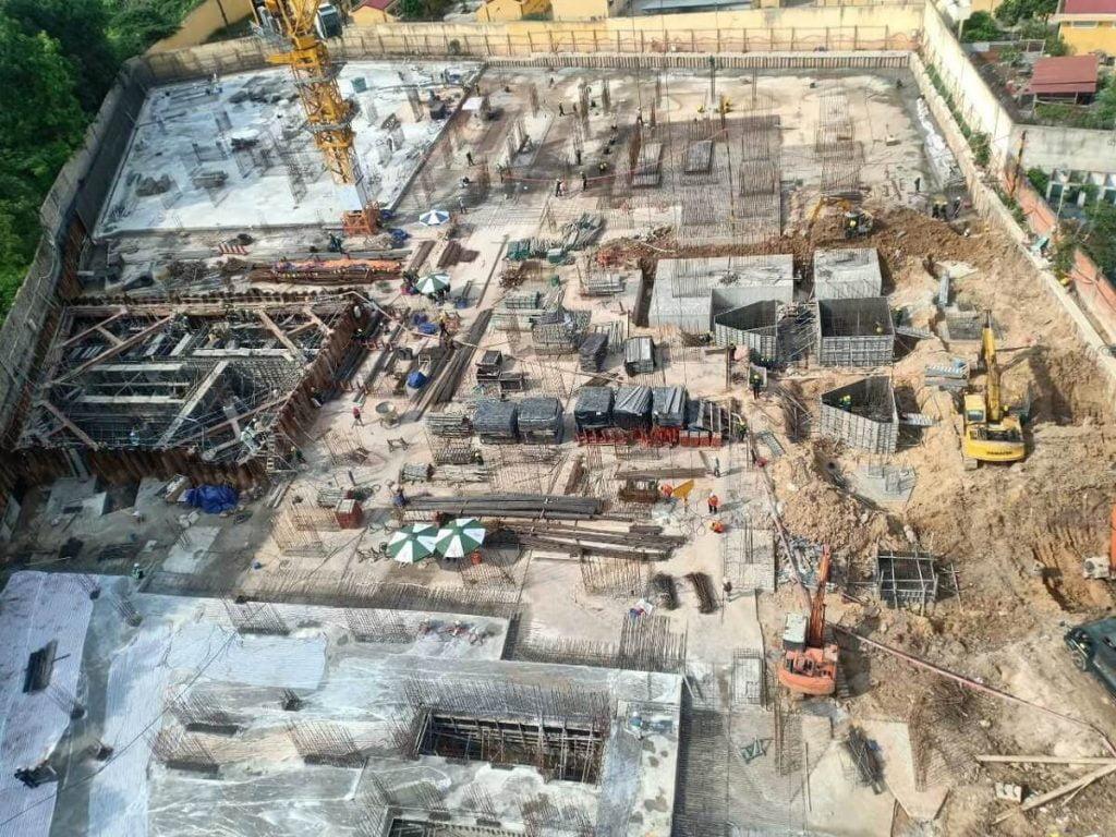 Tiến độ xây dựng căn hộ Opal Nguyễn Văn Tiết