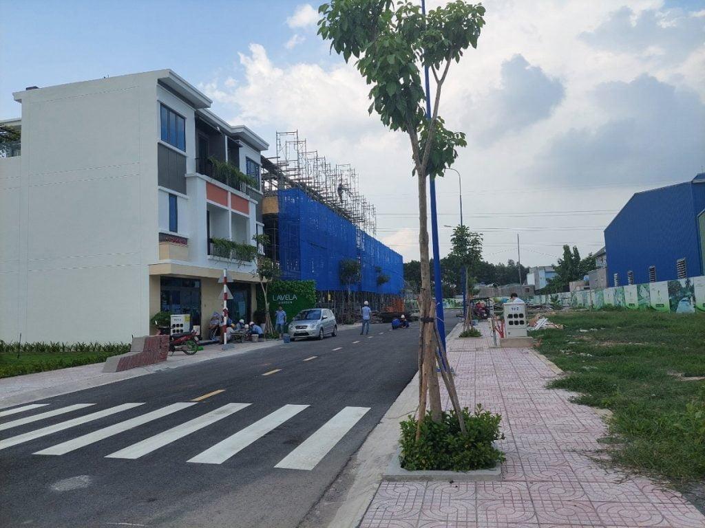 Tiến độ xây dựng nhà phố Lavela Garden