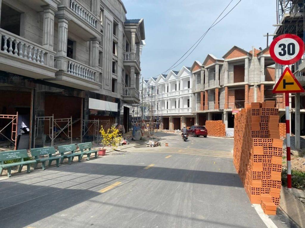 Tiến độ dự án nhà phố An Phát Thuận An