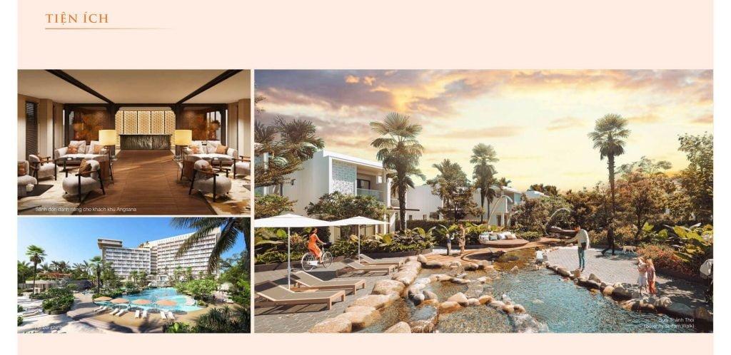 Tiện ích dự án Angsana Residences Hồ Tràm
