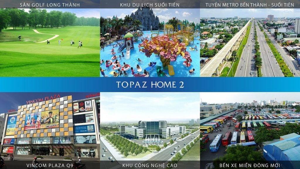 Tiện ích cộng đồng liền kề Topaz Home 2