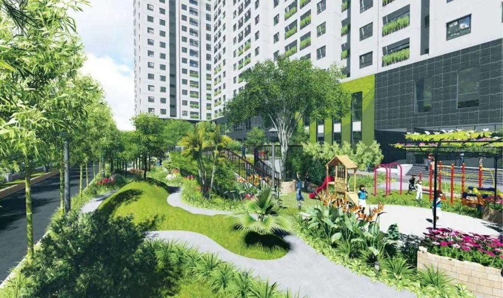 Tiện ích nội khu căn hộ Fresia Garden