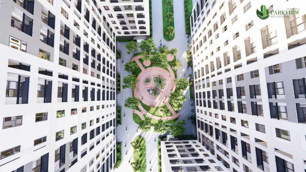 Nội khu Parkview Apartment