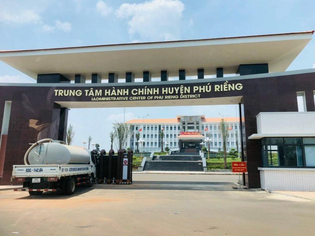 Dự án Diamond Centre Point nằm trong quy hoạch trung tâm hành chính Phú Riềng