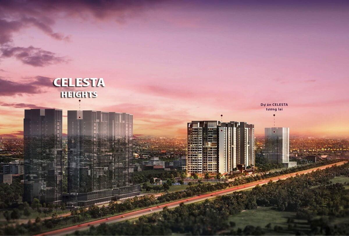 Vị trí dự án Celesta Heights Nhà Bè