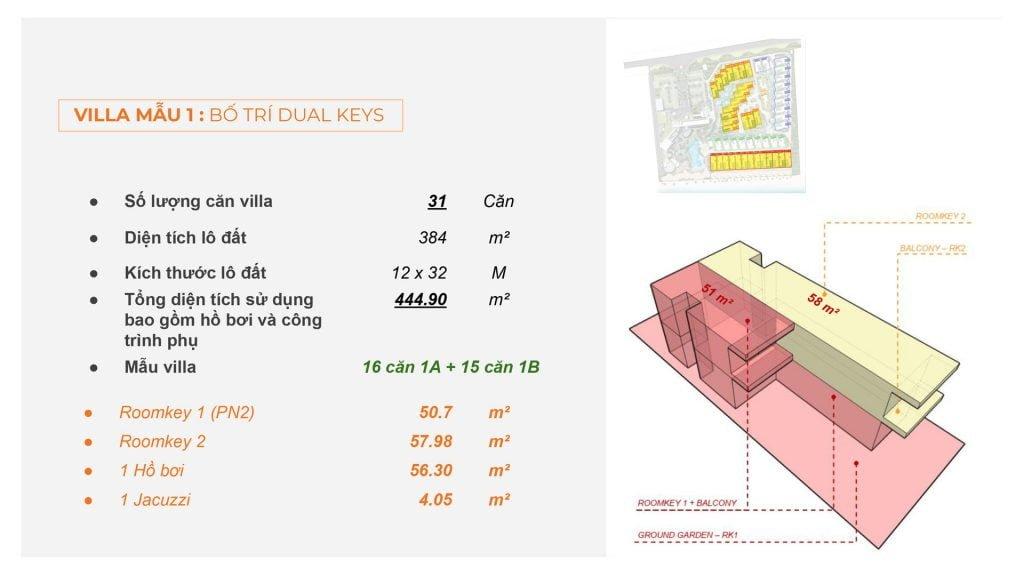 Thiết kế villa Dual Keys Angsana Residences
