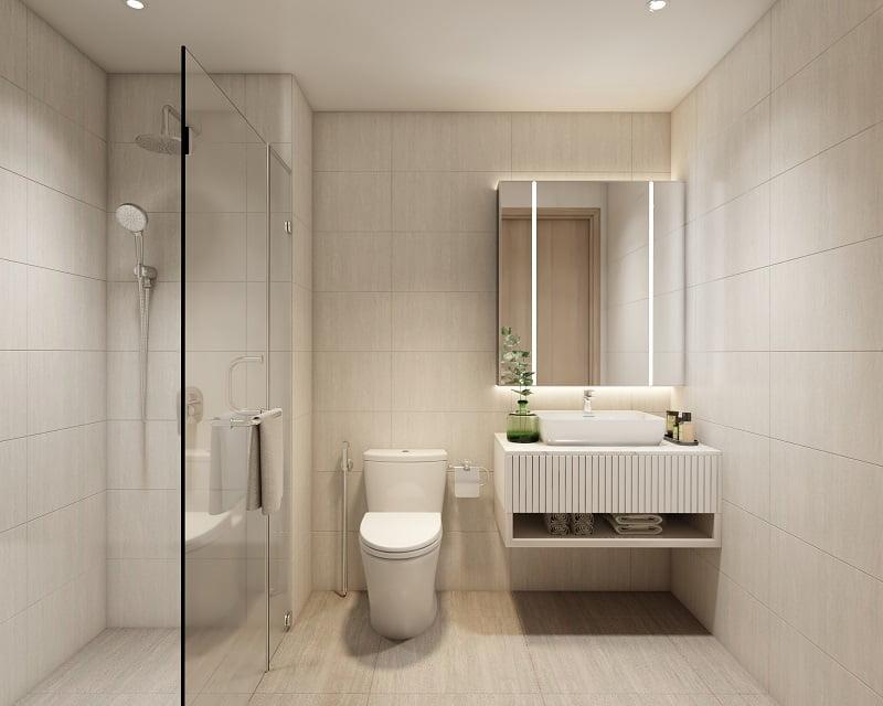 WC căn hộ D-Aqua