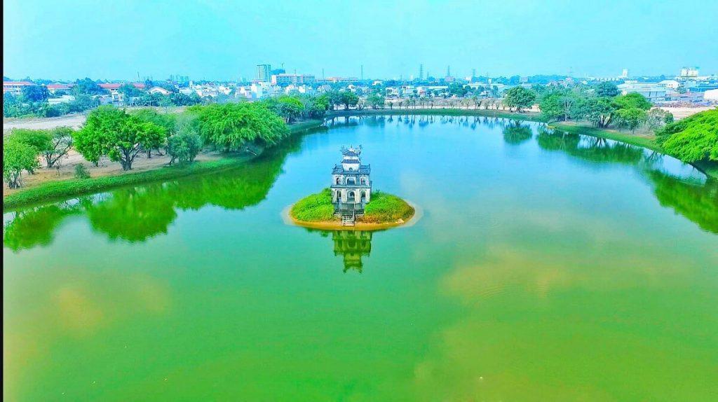 Có một Tháp Rùa ngay trung tâm TP Thuận An