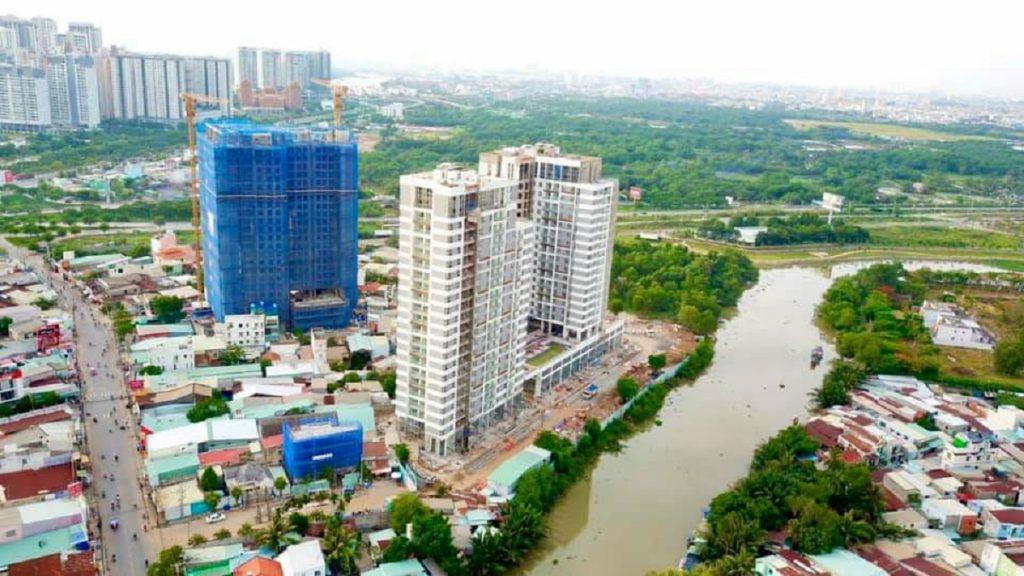 Tiến độ căn hộ Dlusso mới nhất tháng 6/2021