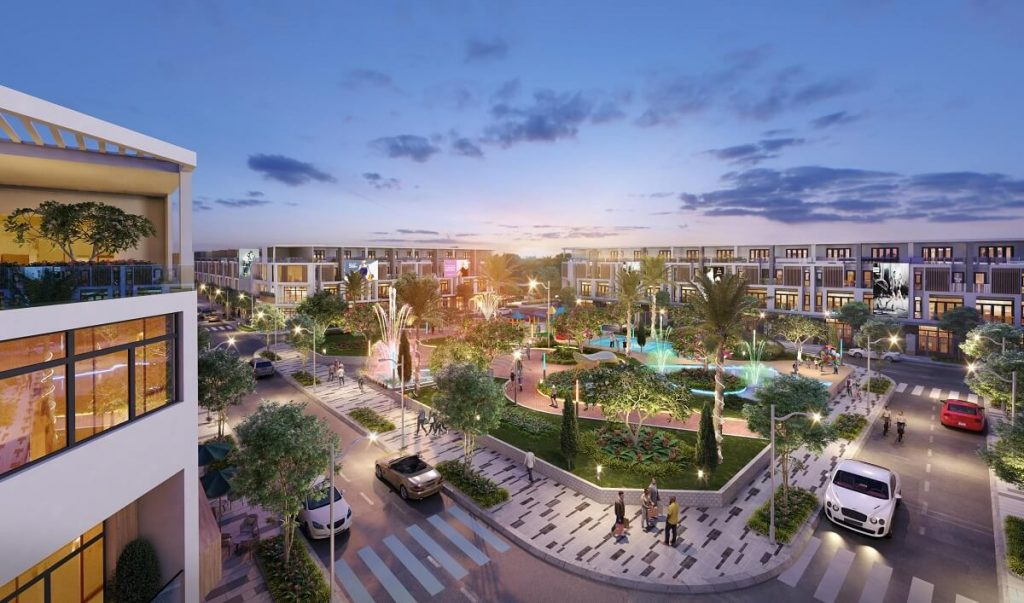 Công viên ánh sáng The Flare Prime City