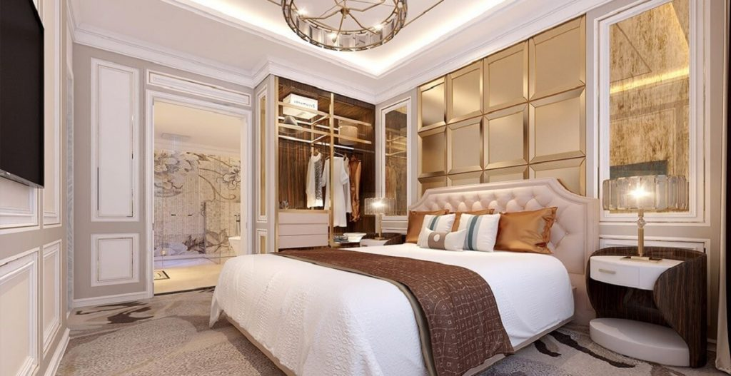 Nhà mẫu căn hộ Rome by Diamond Lotus