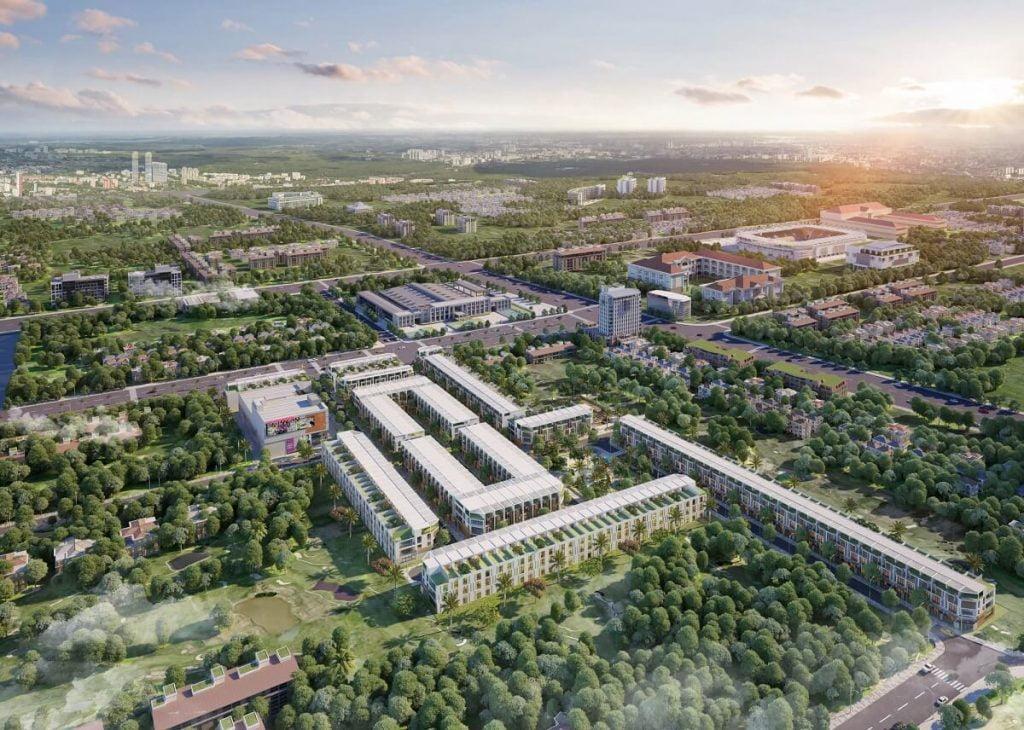 Phối cảnh dự án Prime City Bình Phước