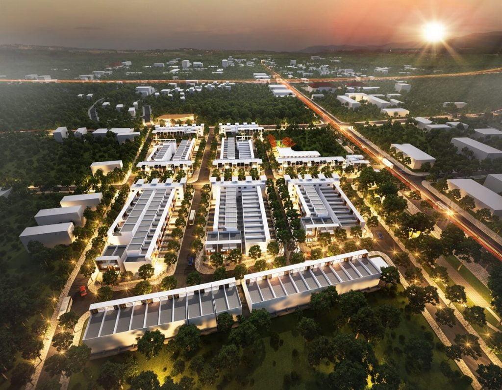 Toàn cảnh dự án The Happy Home Đồng Xoài