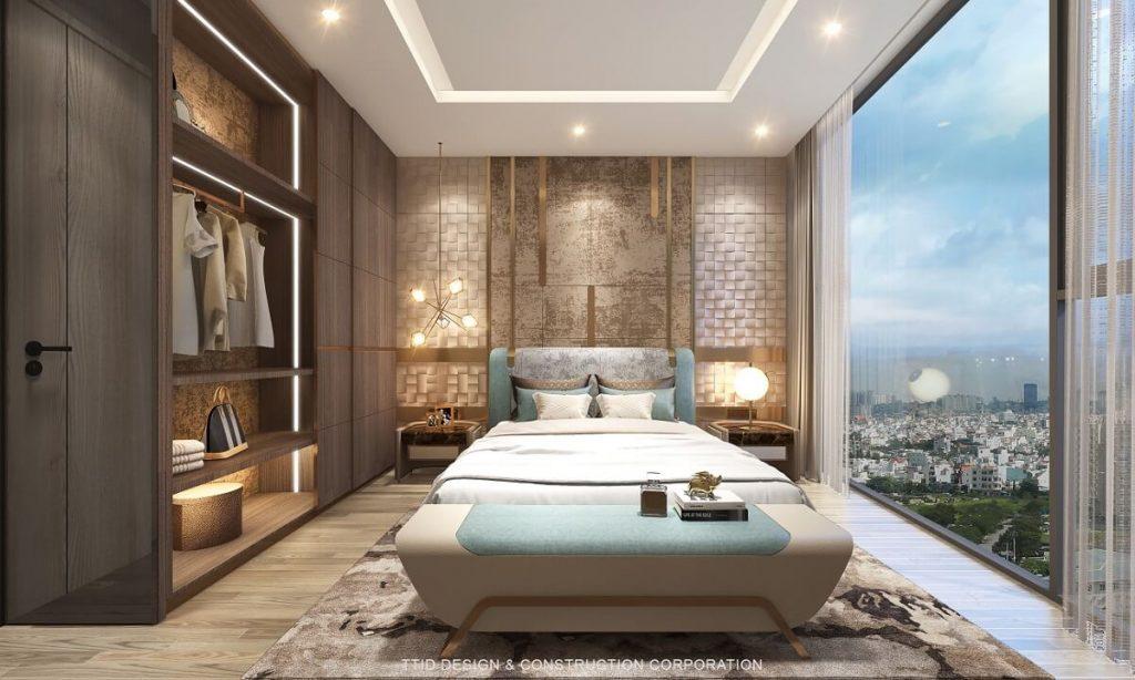 Nhiều phòng ngủ có hướng view sông thoáng và đẹp