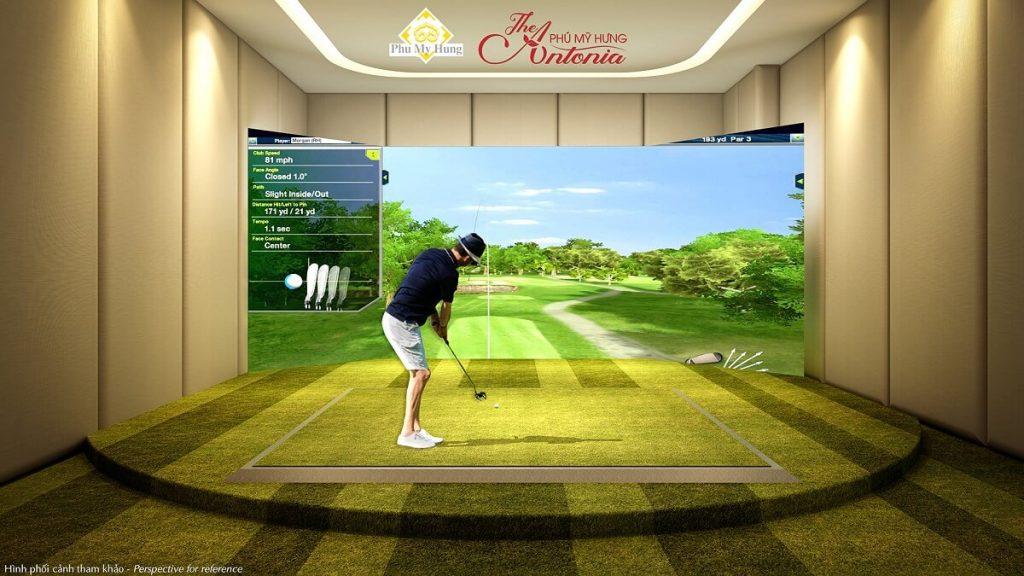 Sân golf giả lập The Antonia