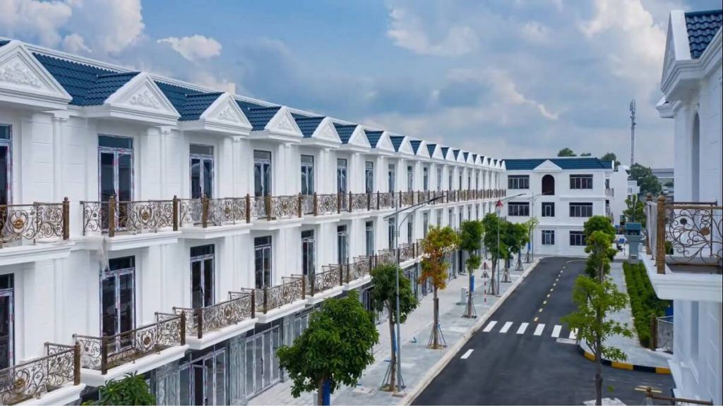 Tiến độ xây dưng tháng 6/2021 dự án CITÉ D'AMOUR