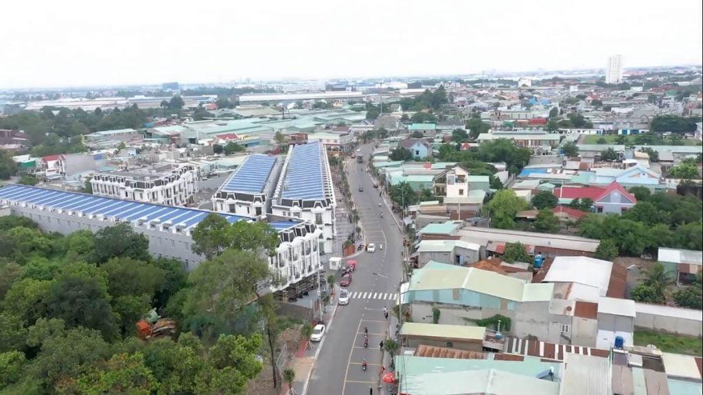 Vị trí và tiến độ xây dựng Royal Town thực tế