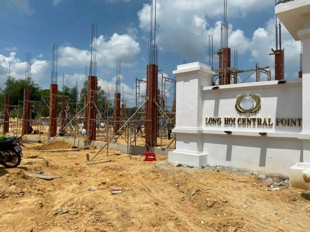 Tiến độ xây dựng Long Hội Central Point Nhơn Trạch mới nhất