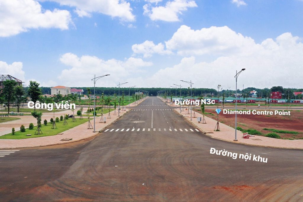 Tiến độ xây dựng khu trung tâm thương mại