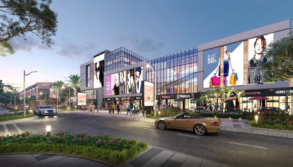 Trung tâm thương mại Eden Mall Prime City