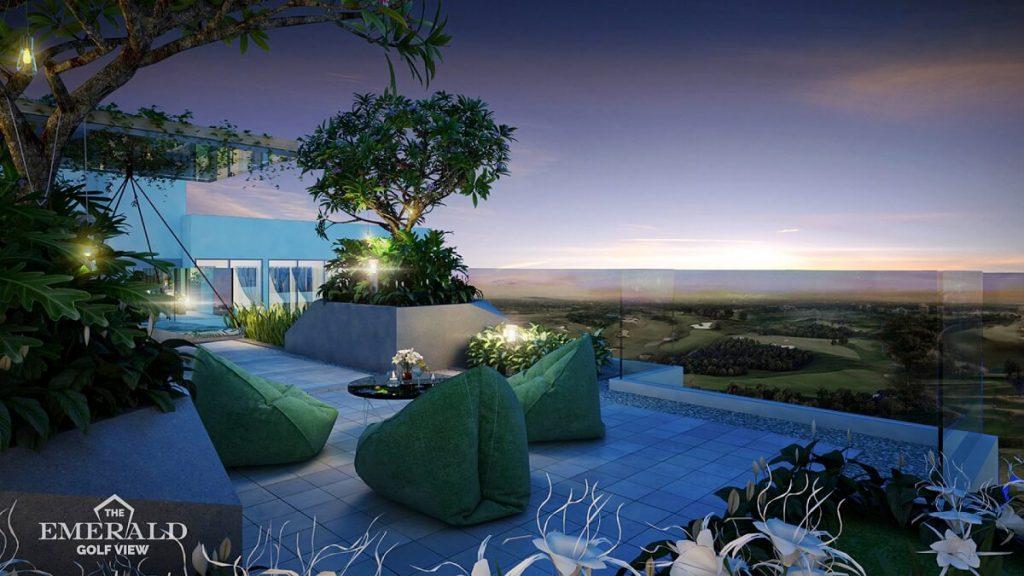Vườn chân mây The Emerald Golf View