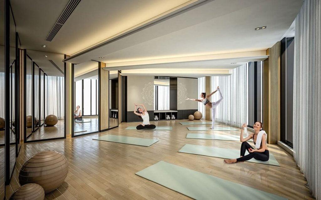 Phòng yoga Cardinal Court