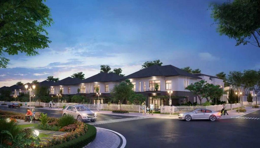 Thiết kế biệt thự tại khu đô thị Đại Phước Molita