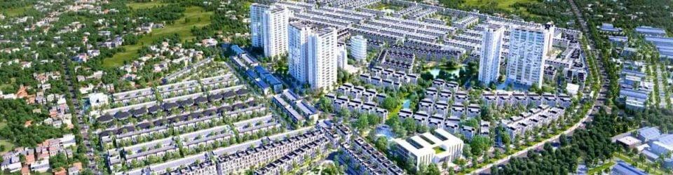 Tổng thể dự án Khu đô thị Đại Phước Molita