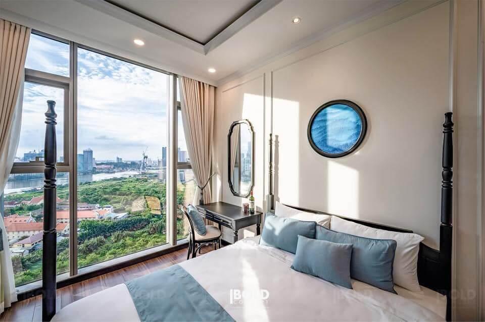 Một căn hộ đã được làm nội thất tại Empire Thủ Thiêm