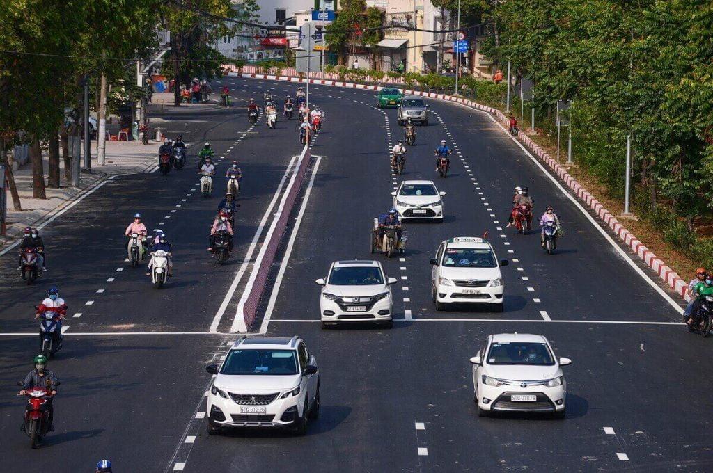 Đường Nguyễn Hữu Cảnh mới được nâng cấp
