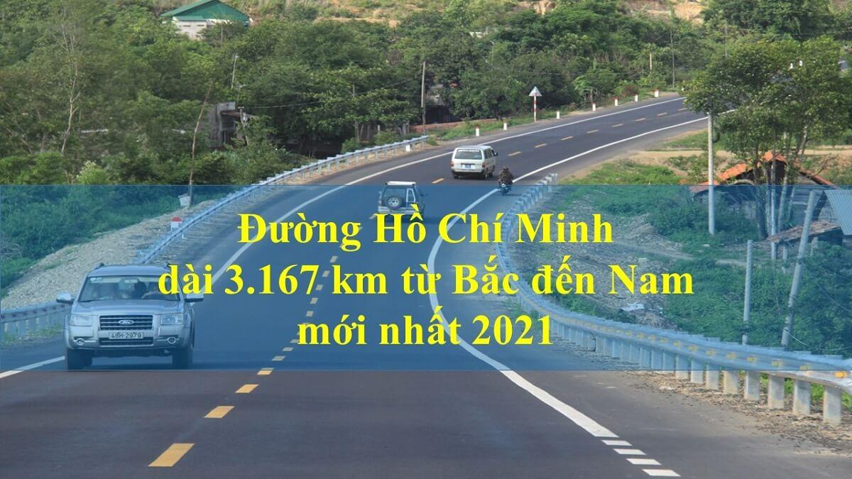 Đường Hồ Chí Minh dài từ Bắc đến Nam