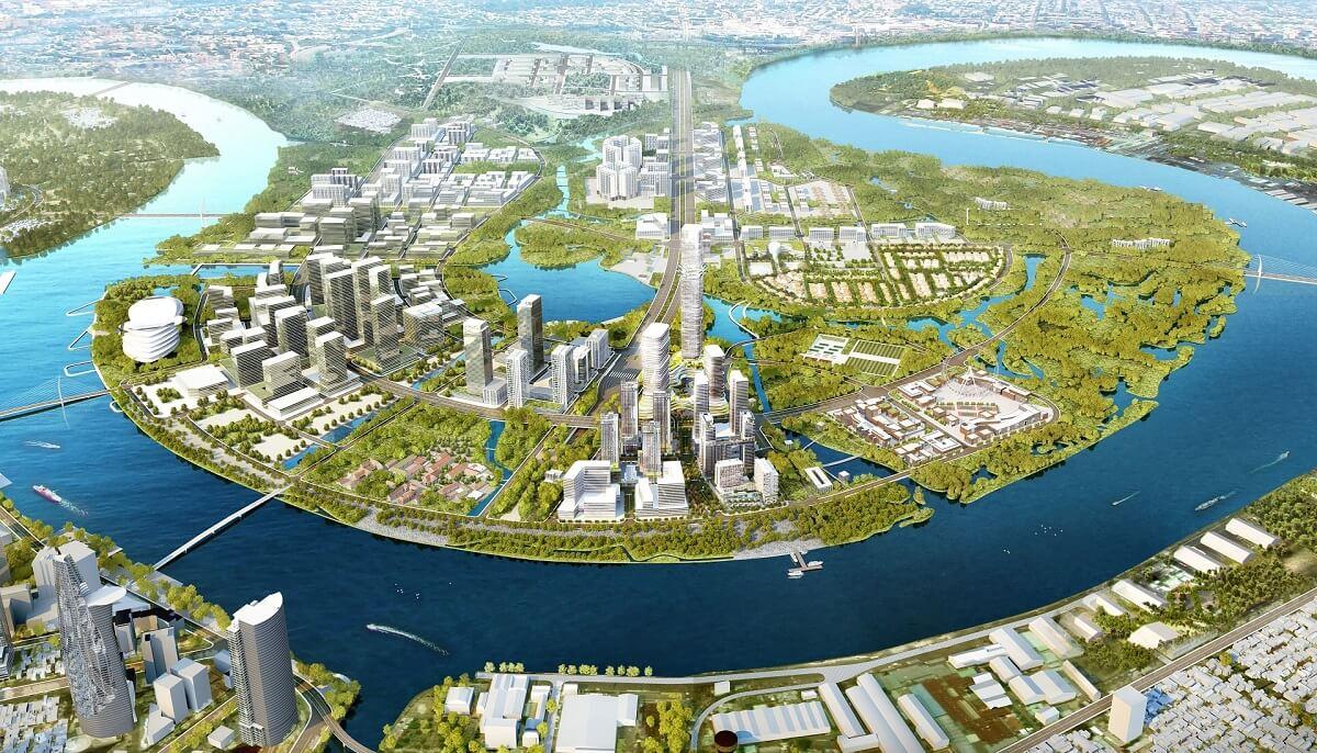 Bán đảo Thủ Thiêm và Empire City