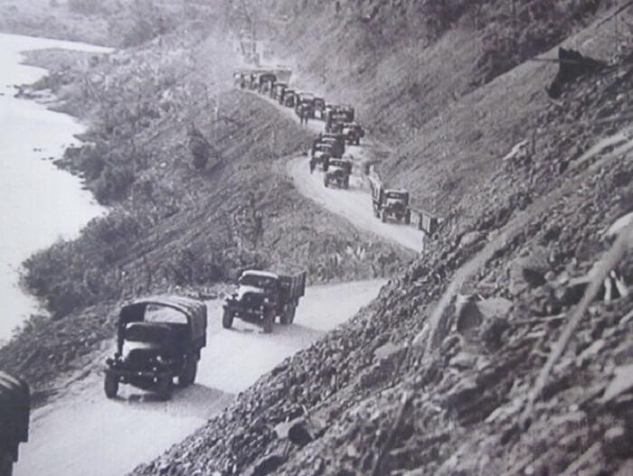 Đường Trường Sơn khi xưa là đường Hồ Chí Minh hiện nay