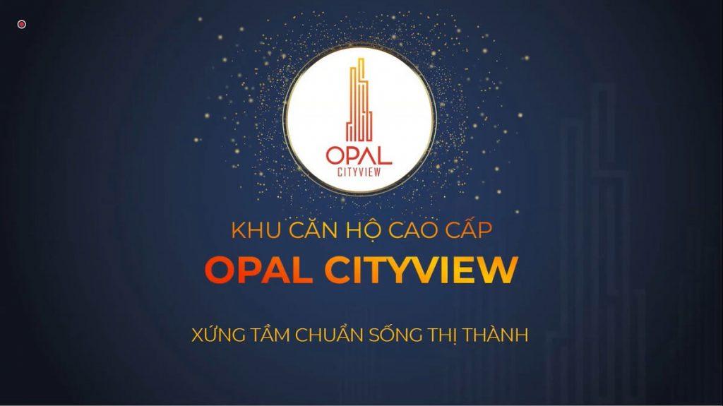 Logo thương hiệu căn hộ cao cấp Opal Cityview Thủ Dầu Một
