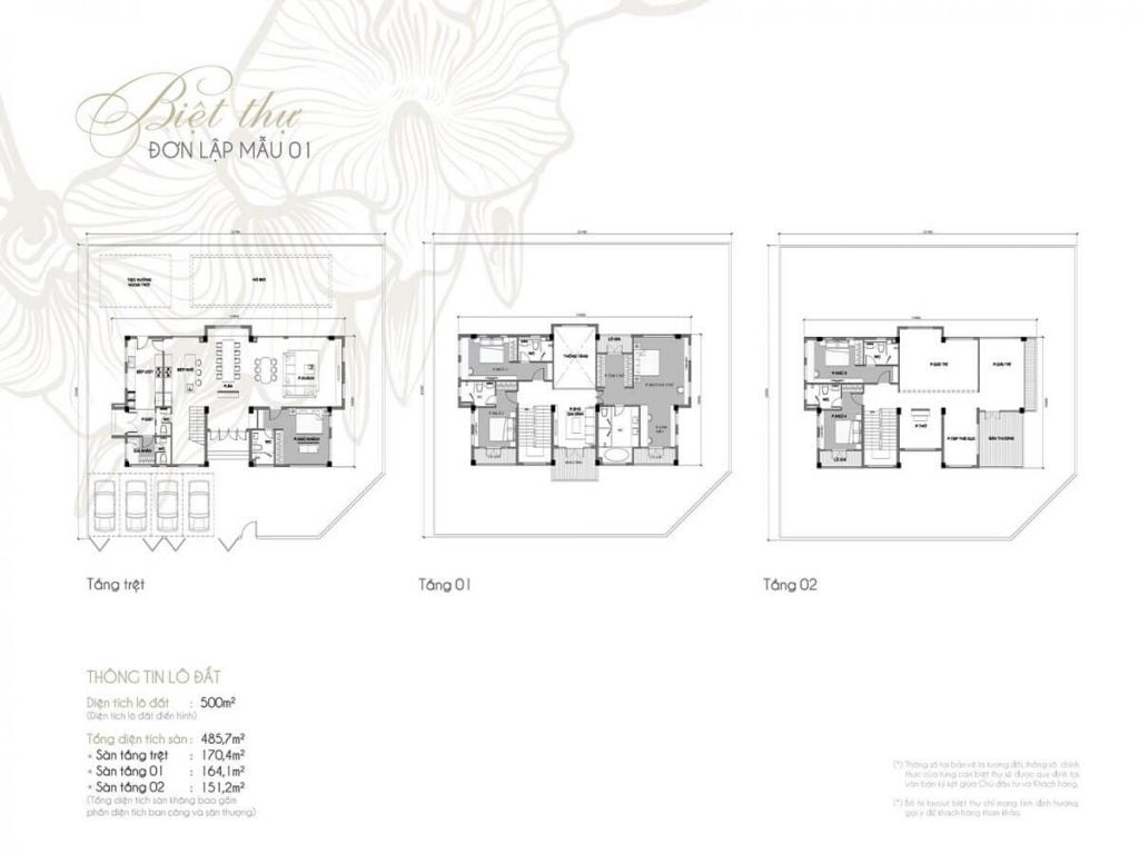 Thiết kế điển hình mẫu biệt thự đơn lập tại Vinhomes Tân Cảng