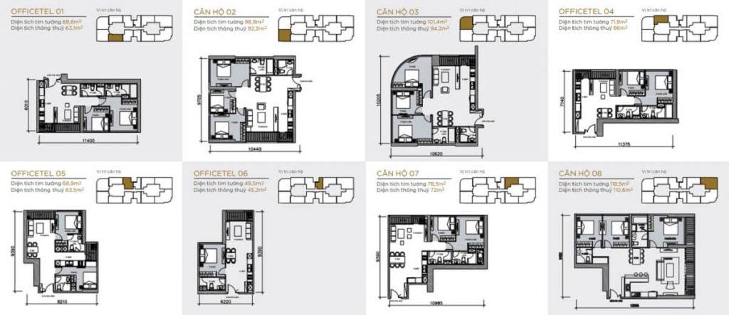 Thiết kế căn hộ Vinhomes Quận 1