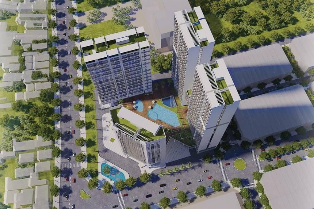 Thiết kế căn hộ Green Tower Dĩ An